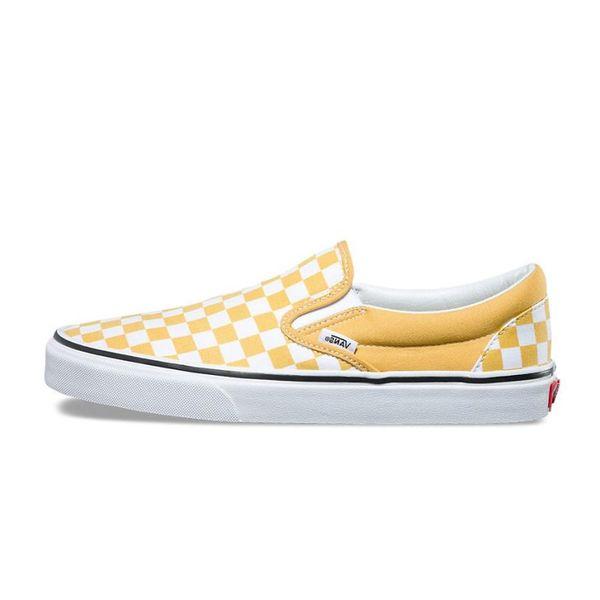 slip on yellow