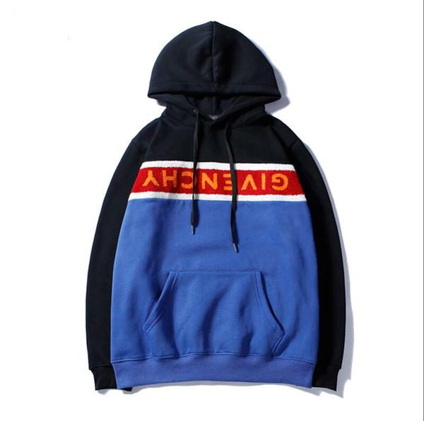 Европа и Америка новые бестселлеры Марка осень зима Новый patternTowel вышивка кашемир свитер хип-хоп мода страх Бог мужчины и wom