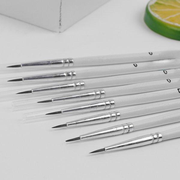 Hook Art Tools Line Drawing Pen Artist Paint Brush Point Tip Nylon Fiber Hair