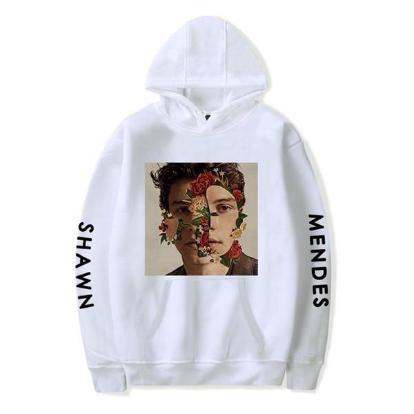 Shawn Mendes Hoodie Autumn Women Hoodies Print Hip Hop Short Sleeve Sweatshirts Mens Long Sleeve Hoodies Pullovers Coat Girls Female