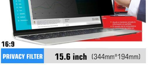 For 15.6 inch laptop