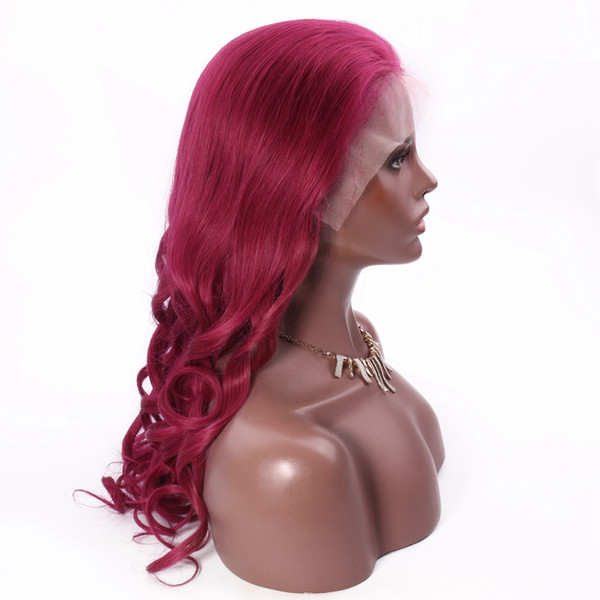 Wholesale Real Human Wig Nice Looking 99J Loosewave FulllaceWig Selling directly from Factory With Best Quality Tangle free Glueless Wig