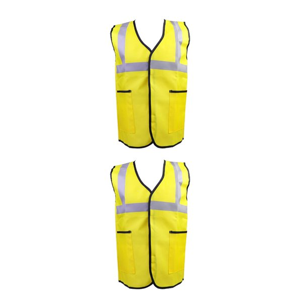 top popular 2x Costume Kids Engineering Suit Worker Vest Halloween Role Play Outfit 2021