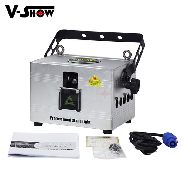 1pc 3W projecteur d'animation de lumière d'étape de laser d'animation de RVB a mené la lumière de Dmx Dj pour la discothèque de barre