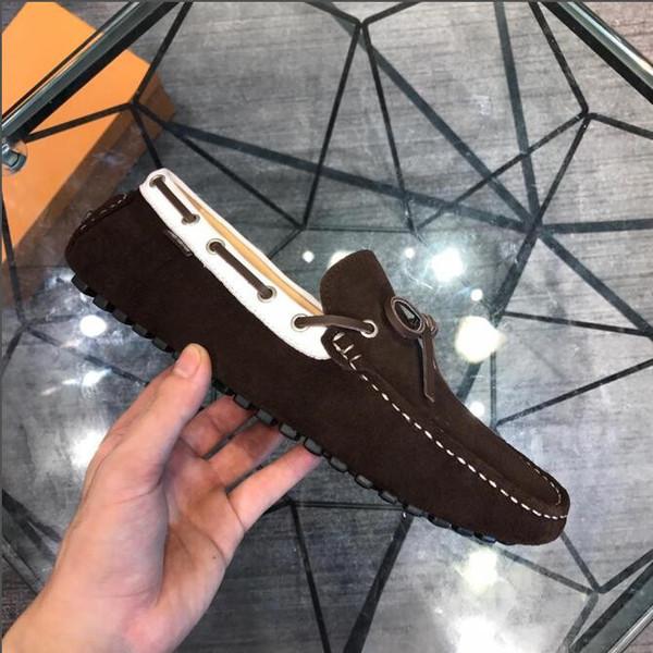 2019 sıcak marka yeni kadın erkek deri ayakkabı flats loafer'lar rahat tek ayakkabı katı sneakers Sürüş ayakkabı unisex tom espadrille yürüyüş ayakkabı