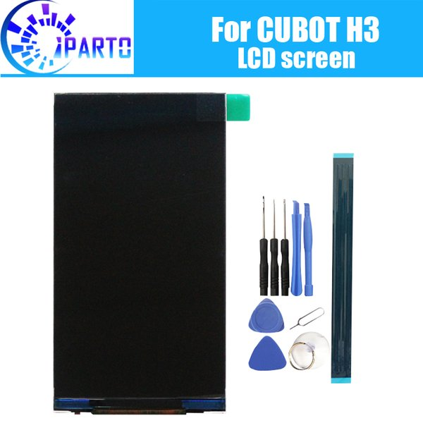 wholesale H3 LCD Display Screen 100% Original New Tested High Quality Replacement LCD Screen For CUBOT H3+tools