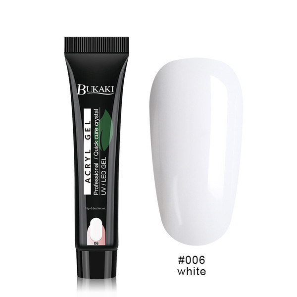 15ml Quick Poly Building Gel UV Builder Nail Tips Finger Extension Camouflage