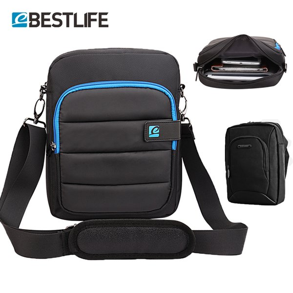 BESTLIFE soft cushion bags for men main Messenger Bag Business Crossbody Briefcase Handbags Small Cross Shoulder Bag with Rubber
