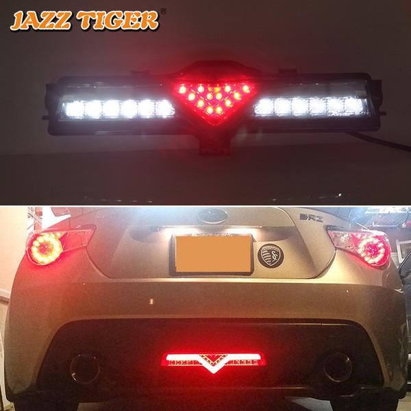 JAZZ TIGER multifunktions Auto Nebelschlussleuchte Bremslicht LED Rückfahrleuchte Heckschürze Reflektor Für Toyota GT86 Scion FR-S