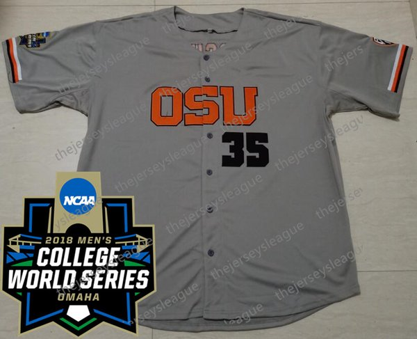 Gray with 2018 CWS Patch