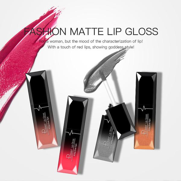 Pudaier 21 Colors Lip Gloss Sexy Lipstick Metallic Lipgloss Long Lasting Matte Liquid Lipstick Makeup Lips Lipgloss Beauty