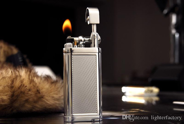 Free Shipping New Arrival Hot Style Creative Pipe Lighter New Metal Windproof Lighter Naked Light Torch Hot