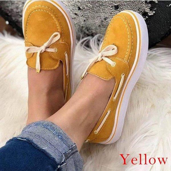 В желтый