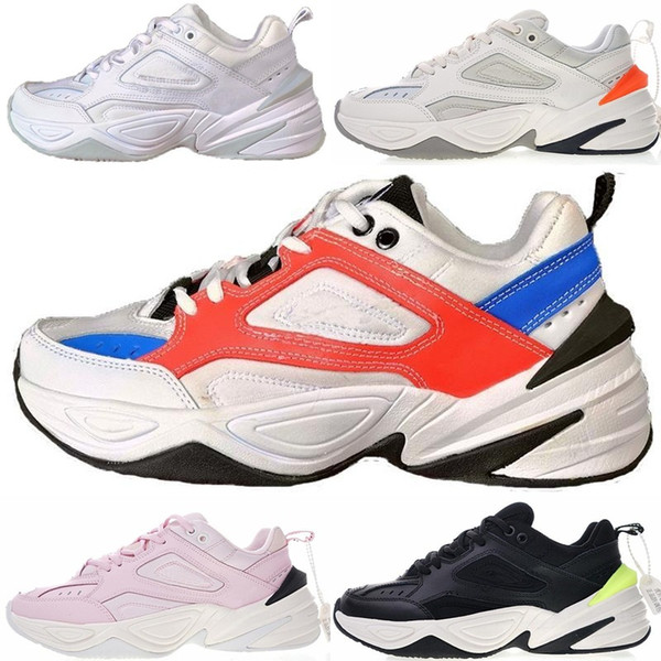 Acquista Nike Air Monarch The M2K Tekno Commercio All'ingrosso M2K Tekno Old Men Sport Scarpe Da Corsa Uomo Donna Sneakers Da Ginnastica Da Ginnastica