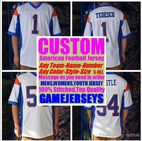 2019 Personalized american football jerseys college cheap authentic rugby retro sports jersey stitched men womens youth kids 4xl 5xl 6xl 7xl