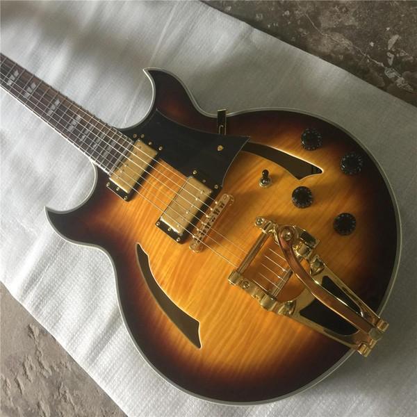Бесплатная доставка Фабрика direc разнообразие белой электрогитары, вяза тела, кленовый гриф, винтажная гитара, электрогитара, посетить гитару