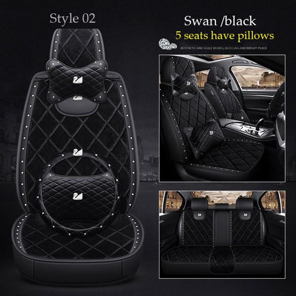 Swan siyah 02