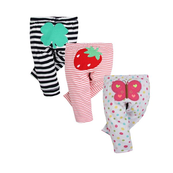 2019 New Fashion Baby Pants 100% Cotton Spring Autumn Newborn Baby Leggings Infant Baby Boy Girl Clothing 6-24 Month