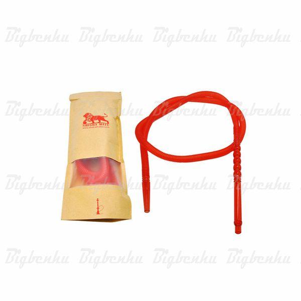 plastic hookah hose 1.6 M With Long Acrylic Mouth Pipe water pipe hookah Shisha bong Shisha Chicha Tube Pipes Accessories