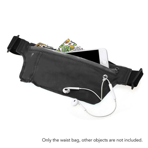Unisex Anti-theft Running Bag Mobile Phone Men Women Fanny Pack Running Waist Bag Sport Key Cellphone Pouch Waist Sport Belt #258071