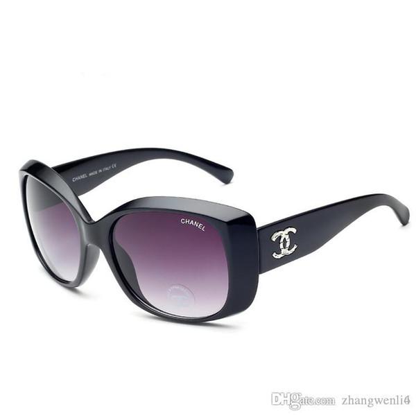 2019 nuevas gafas de sol clásicas de lujo de primera calidad de marca de diseñador de moda para hombre para mujer gafas de sol gafas de metal lentes de vidrio con caja