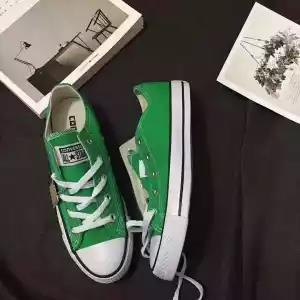 top popular Classic canvas shoes men and women shoes high and low canvas shoes lovers casual low to help high mm5 2019