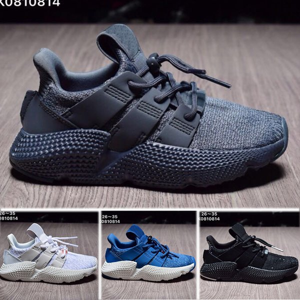 2018 Epacket support kids EQT running shoes high performance discount children sneakers top quality youth run shoes y3factory EU 26-35