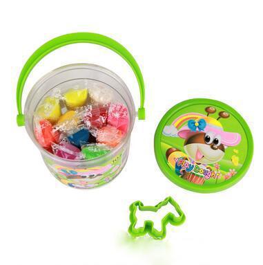 DHL Kids Clay Toys 10 colores Juguetes educativos para niños Plasticine Clay Safety Inofensivo Playdough Niños DIY Juguetes Envío gratis