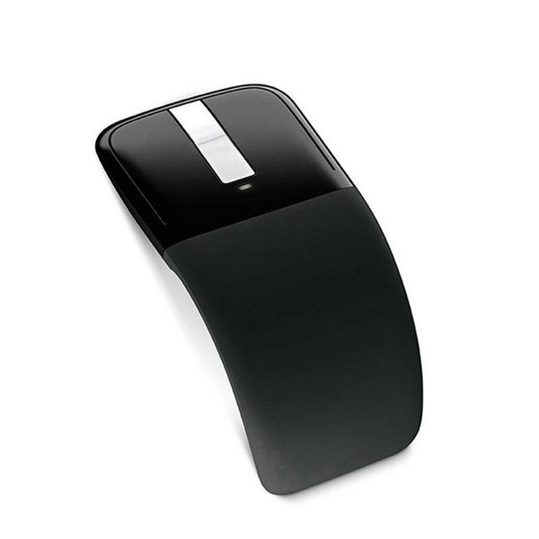 Poratble Optical Arc Touched Wireless Mouse Foldable wireless office mouse Silent USB Charging Gaming Folding With USB Receiver