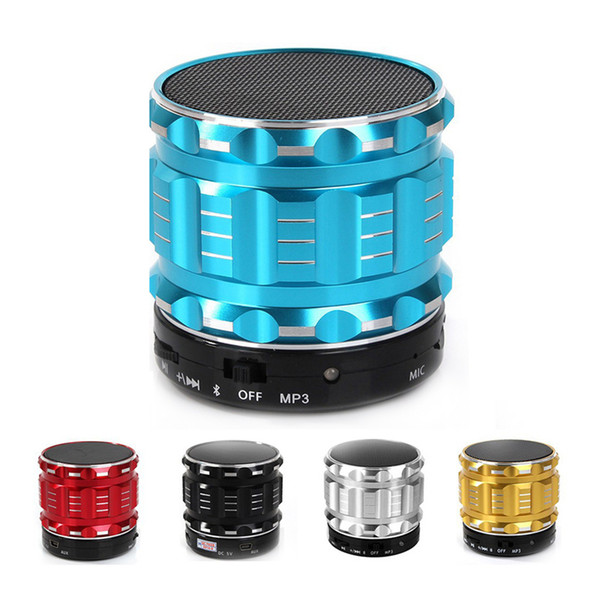 Portable Bluetooth Speaker S28 Wireless MP3 Speakers Wifi Subwoofer TF USB Charge Music With Micphone For Phone Pad Laptop Sound
