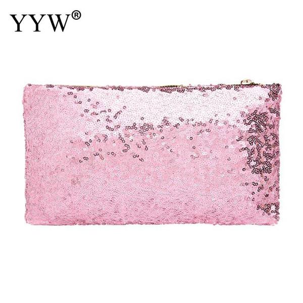 Luxury Women Handbag Glitter Ladies Wallet Purse Fashion Beaded Purse Cultch Handbags 2019 Summer New Arrive Bolso Mujer