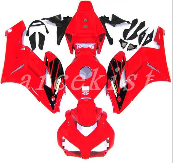 Nuevos kits de carenados de motocicleta ABS de moldeo por inyección adecuados para Honda CBR1000RR 04 05 ABS carenado set CBR 1000RR 2004 2005 rojo negro agradable