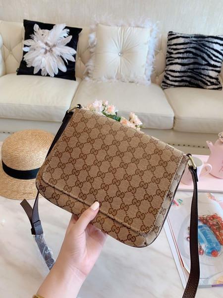 Heißer Verkauf Designer Crossbody Messenger Berühmte Marke Handtaschen Gute Qualität Ledertaschen Klassischen Stil Sattel Staubbeutel Box 0718