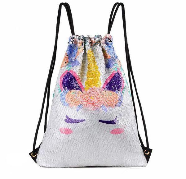 824fbaa68922 Sequins Backpack Unicorn Sequin Drawstring Bag Reversible Outdoor Backpack  Sports Shoulder Rope Bag Travel Bag Bags Backpack Leather Backpack Sale ...