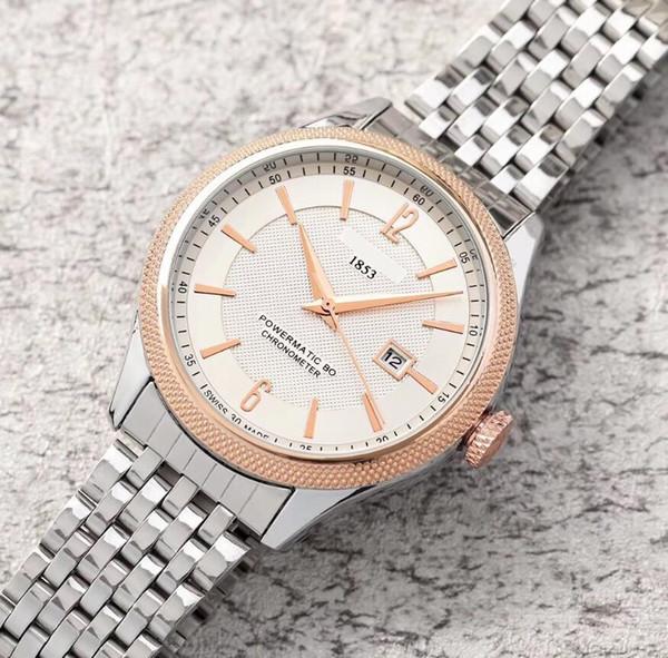 Высокое Качество 2019 Время Мужские Часы Большой Циферблат Дисплей Роскошные часы