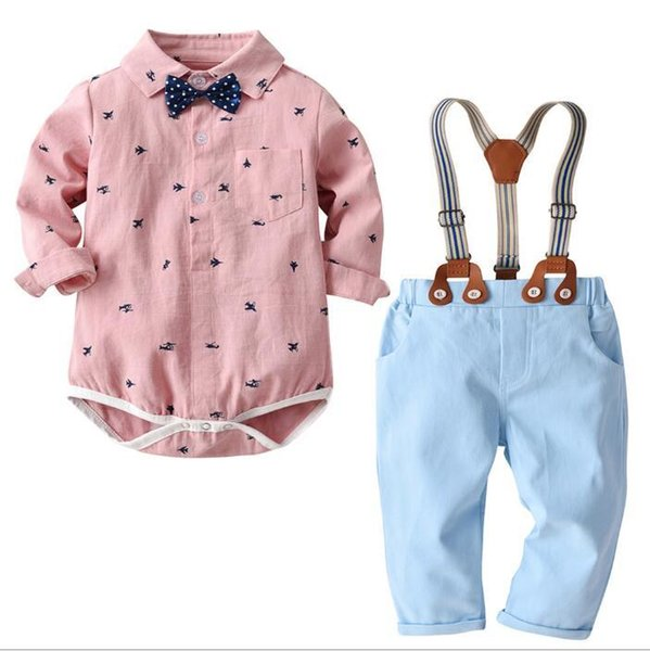 High Quality Retail Baby Boys Rompers Short Sleeve Infant Jumpsuits Summer Baby Girls Clothing Sets Cartoon Newborn Baby Clothes for 95m Mo