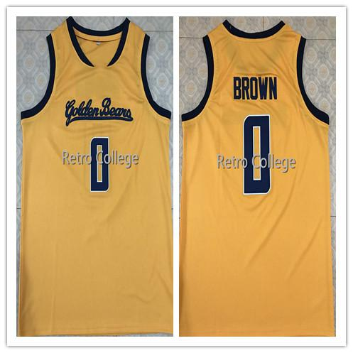 Vintage #0 Jaylen Brown California Golden Bears Top College basketball jersey all size Embroidery Stitched vest Jerseys Ncaa