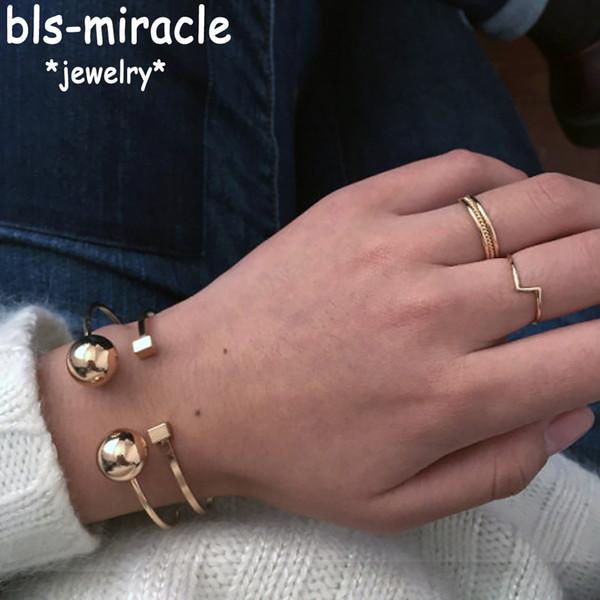 Haut Mode Mix Mix Kleur Koper Bracelet d'ouverture Léger Ouverture Voor Vrouw Cadeau Grossiste Accessoires