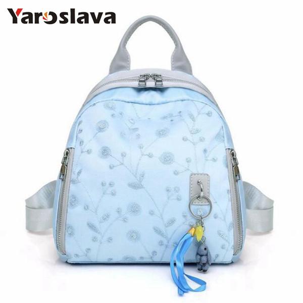 2019 Corduroy Backpacks For Women Bag Casual Style Ladies Solid Color Back Pack Female Teens Girls School Backpack Teenager Durable Modeling Women's Bags Backpacks