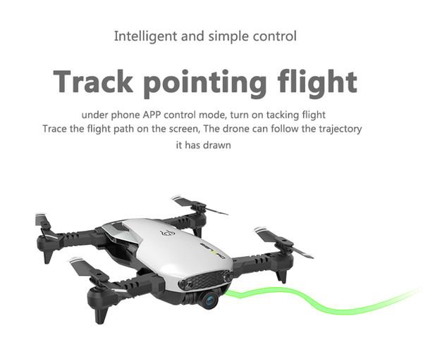 UAV Drones Quadcopter Optical Flow Fixed Height Aerial Camera Optical Follow Mode HD Innovation Self-timer Drones H2