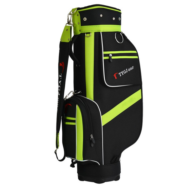Portable Golf Stand Bag Men Lightweight Golf Club Set Bag With Stand 5 Sockets Outdoor Sport Cover Big Capacity D0639