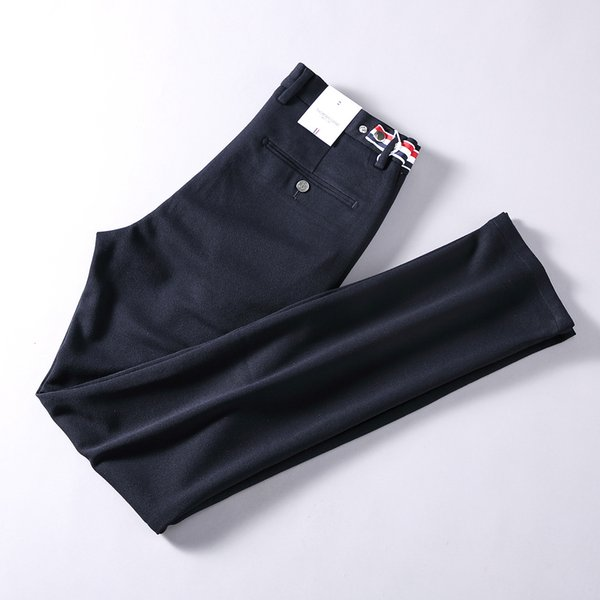 2019 Autumn Leisure Time Pants Male Easy Straight Male Pants Business Affairs Man Trousers6767