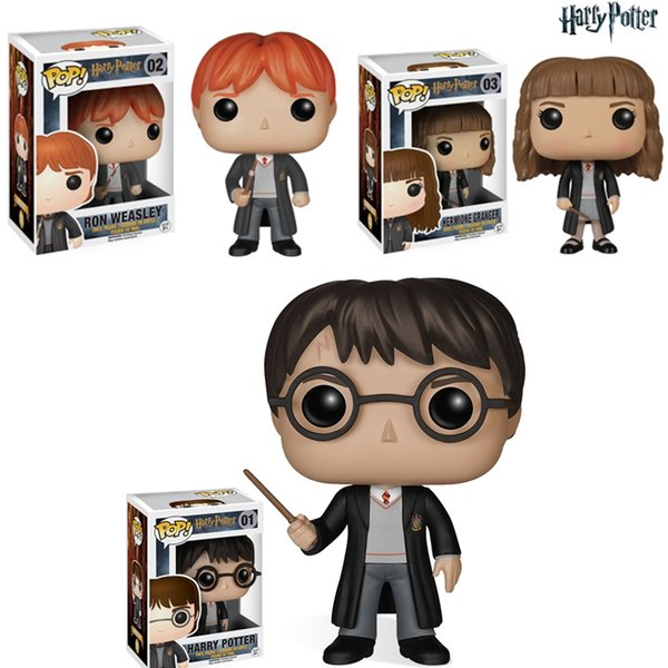 Harry Potter Funko POP Movies Severus Snape Vinyl Action Figure Dolls with Original Box Good Quality dobby Doll ornaments toys