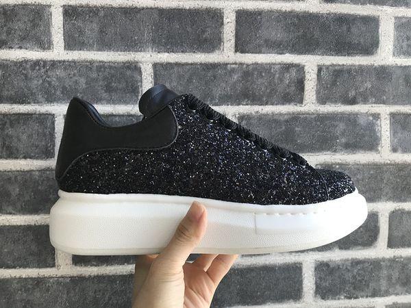 Hombres Zapatillas de deporte para mujer Estabilidad extremadamente duradera Negro Zapatos casuales con cordones Diseñador Confort Zapatillas de mujer bonitas Zapatos de cuero casuales