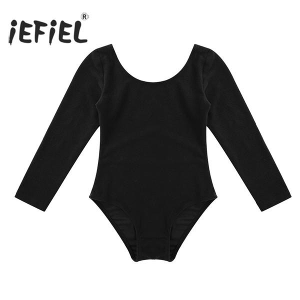 kids tutu iEFiEL Kids Tutu Dress Long Sleeved Spandex Gymnastics Leotard Bodysuit Girls Children's Ballet Dancing Dress Dancewear