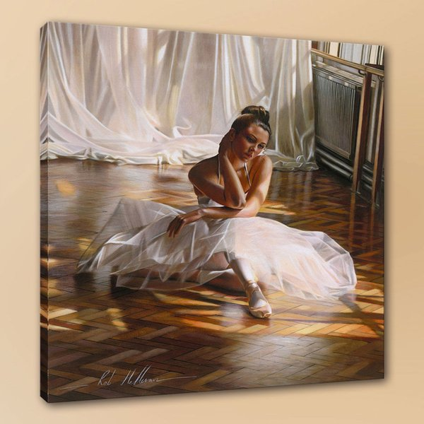 Rob Hefferan Tired Ballerina Handcrafts /HD Print Wall Art Picture Oil painting On canvas Home Decor l190822