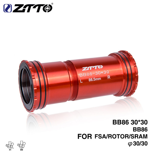 2019 ZTTO BB86 30 Press Fit External Bottom Brackets 4 Bearings For Road  Mountain Bike 30mm Crankset BB Rotor Chainset From Hito168, $35.18 | ...