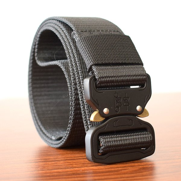 Men's Tactical Nylon Outdoor Training Casual Multi-function Belt