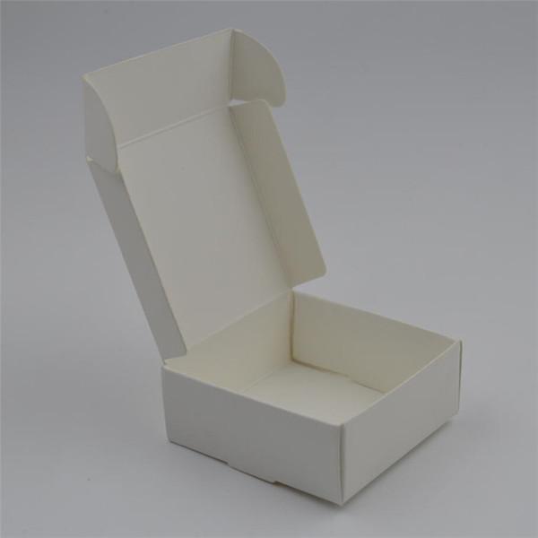 اللون: WhiteGift مربع الحجم: 4x4x2.5cm