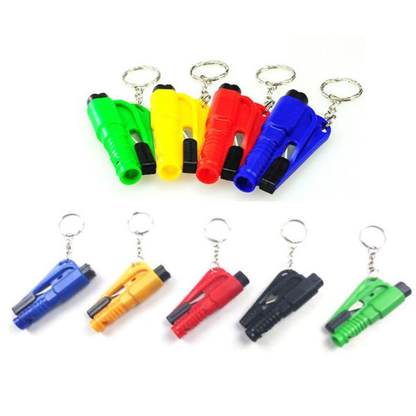 best selling Mini safety hammer car life-saving escape hammer window emperorship keychain car Window broken emergency glass breaker